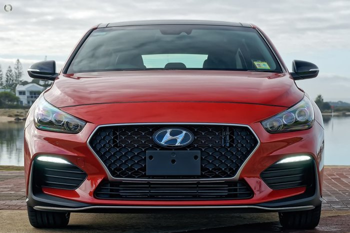 2021 Hyundai i30 N Line Premium PD.V4 MY21 Orange