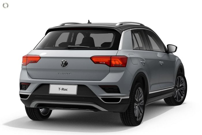 2021 Volkswagen T-Roc 110TSI Style A1 MY21 White Silver