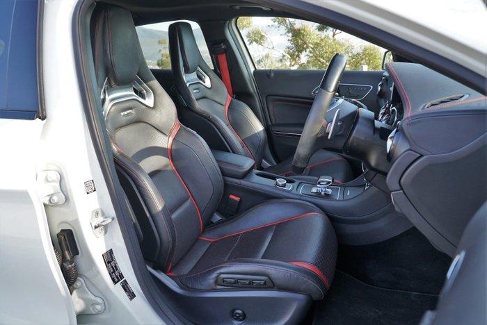 2015 Mercedes-Benz GLA-Class GLA45 AMG X156 Four Wheel Drive Cirrus White