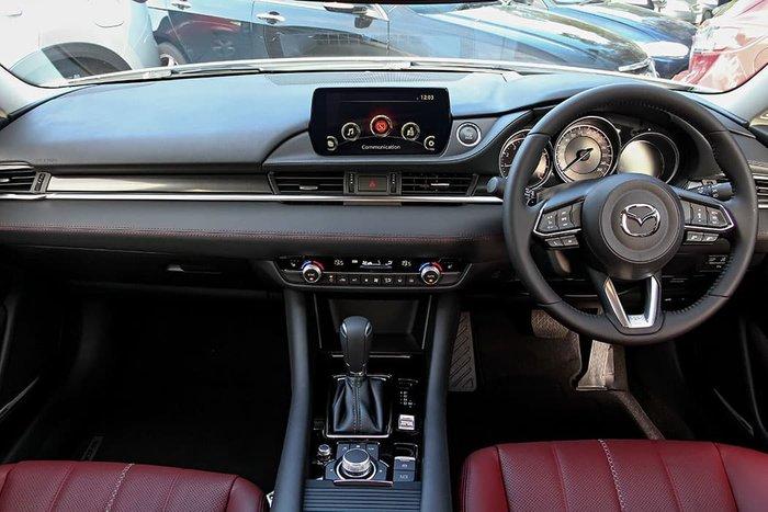 2021 Mazda 6 GT SP GL Series Snowflake White Pearl