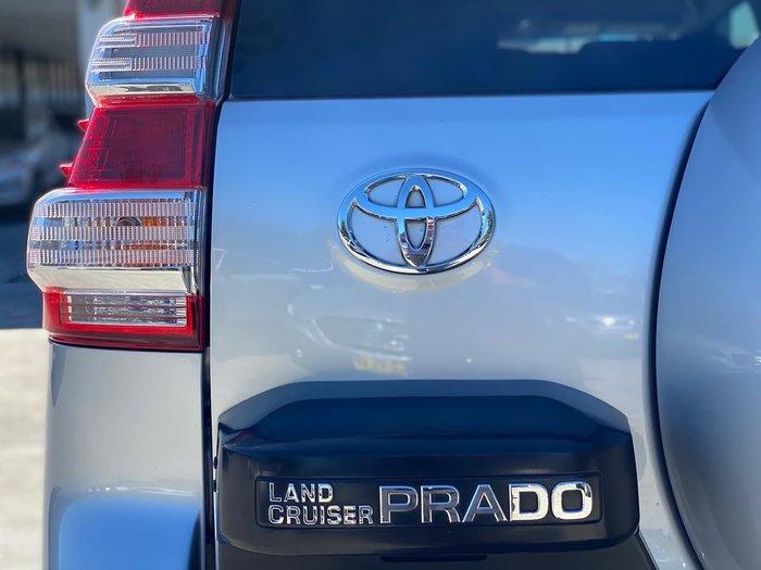 2015 Toyota Landcruiser Prado Kakadu GDJ150R 4X4 Dual Range Silver