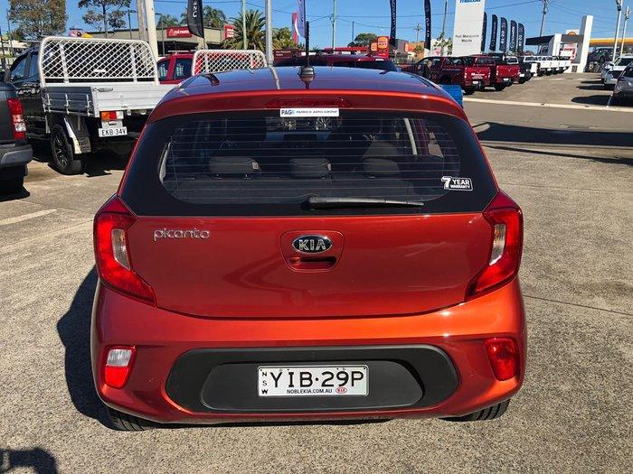 2019 Kia Picanto GT-Line JA MY19 Orange