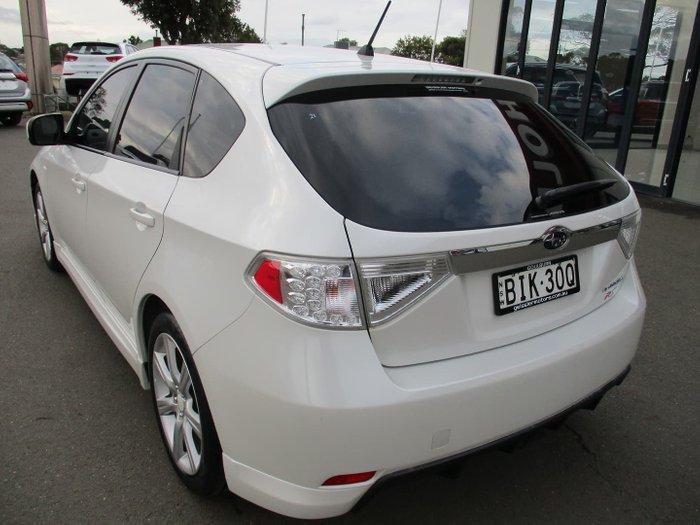 2008 Subaru Impreza RS G3 MY09 AWD Pure White
