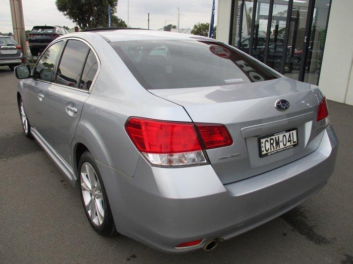 2013 Subaru Liberty 2.5i Premium 5GEN MY14 AWD Ice Silver