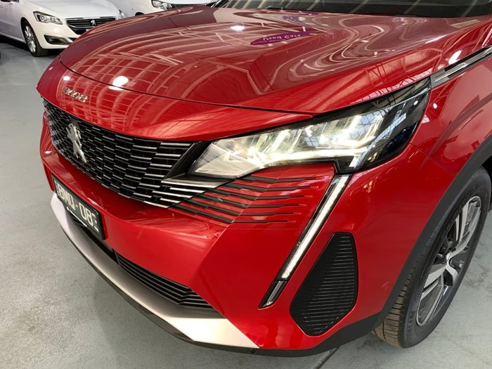 2021 Peugeot 5008 GT P87 MY21 Red