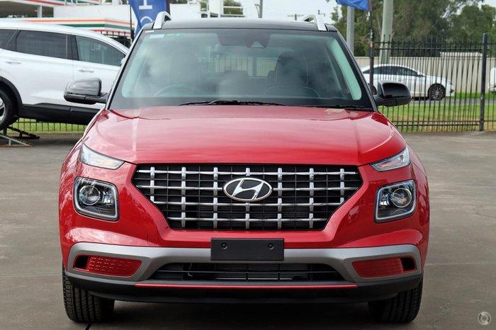 2021 Hyundai Venue Elite QX.V3 MY21 Red