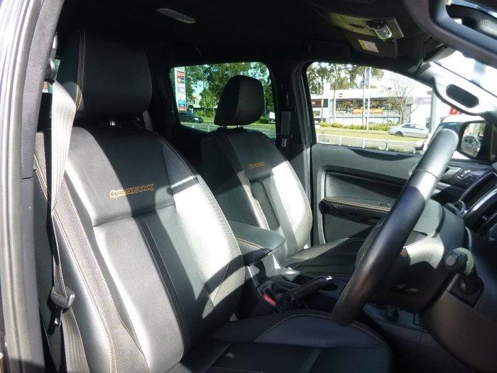 2019 Ford Ranger Wildtrak PX MkIII MY20.25 4X4 Dual Range Grey
