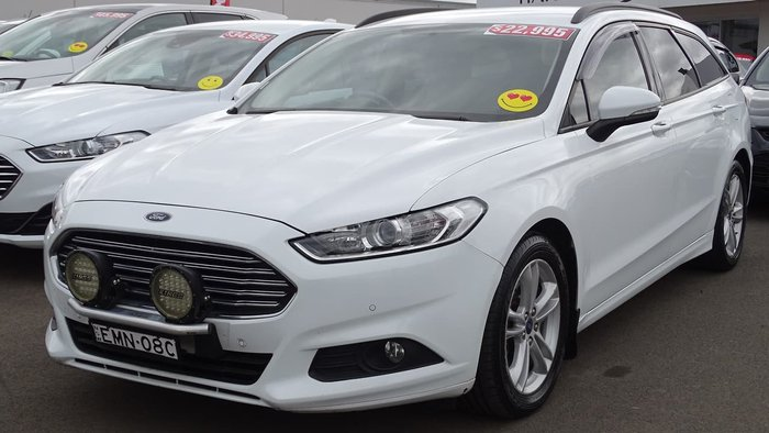 2017 Ford Mondeo Ambiente MD MY17 White