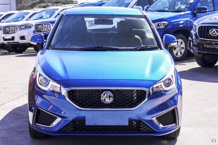 2020 MG MG3 Excite MY21 Regal Blue