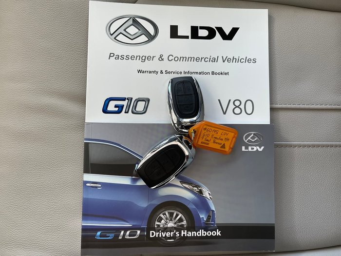 2021 LDV G10 Executive SV7A Bronze