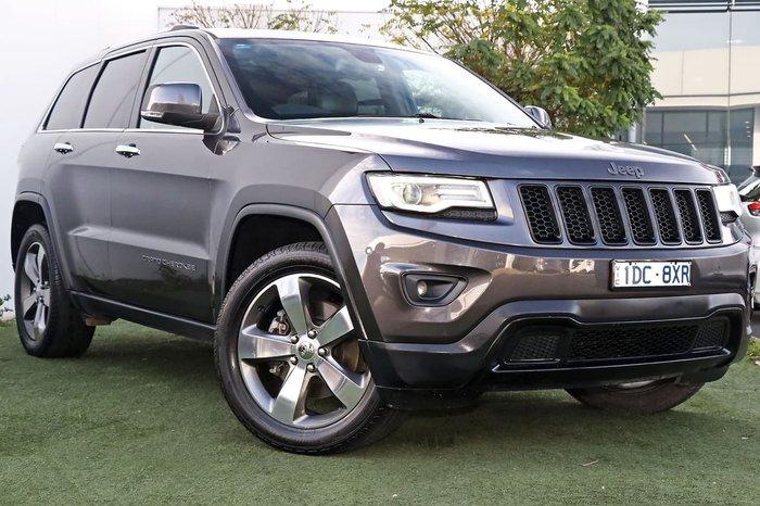 2015 Jeep Grand Cherokee Limited WK MY15 4X4 Dual Range Grey