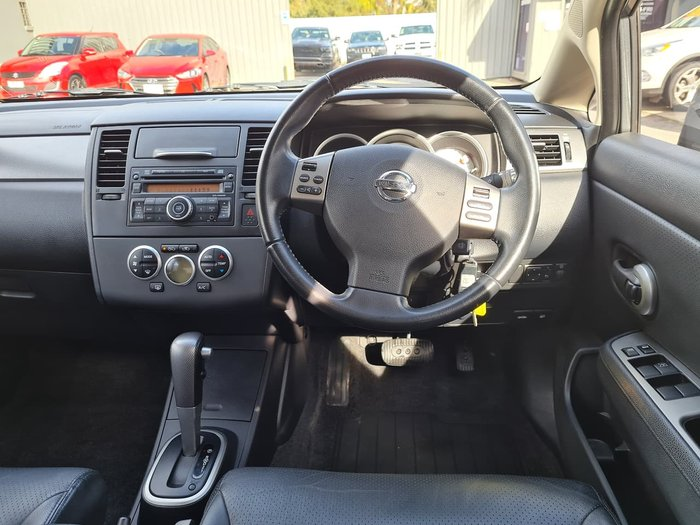2010 Nissan Tiida Ti C11 S3 Grey