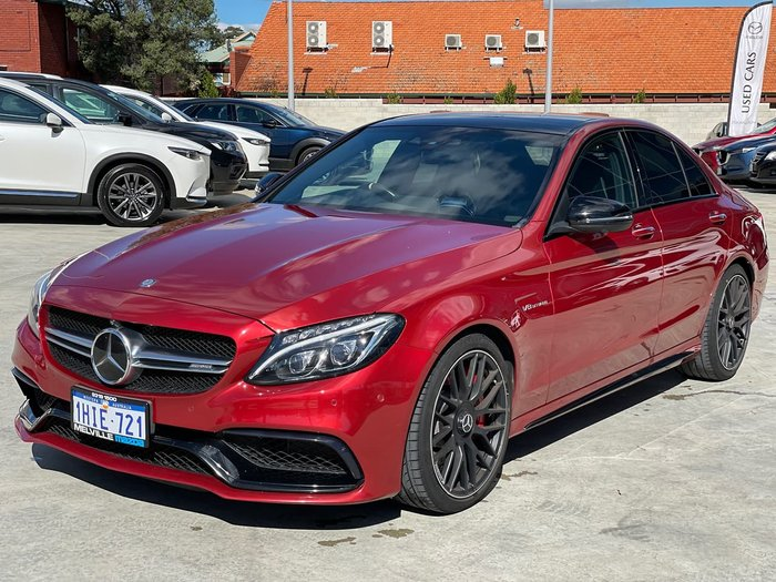 2015 Mercedes-Benz C-Class C63 AMG S W205 Red