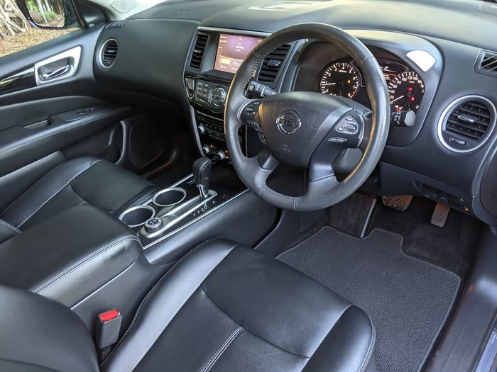 2017 Nissan Pathfinder ST-L R52 Series II MY17 4X4 On Demand Blue