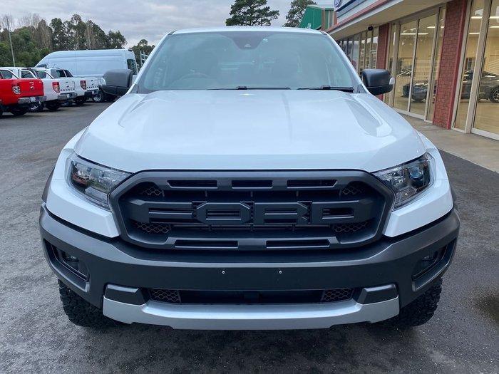 2020 Ford Ranger Raptor PX MkIII MY20.25 4X4 Dual Range White