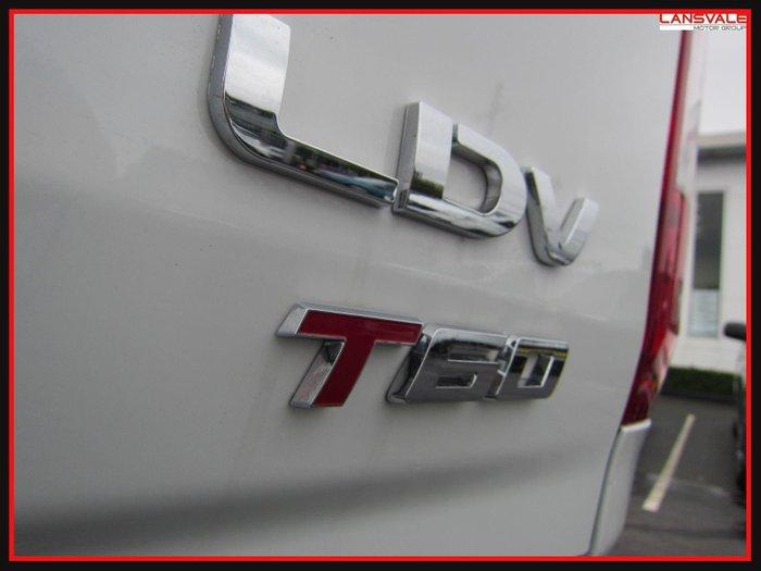 2021 LDV T60 LUXE SK8C BLANC WHITE
