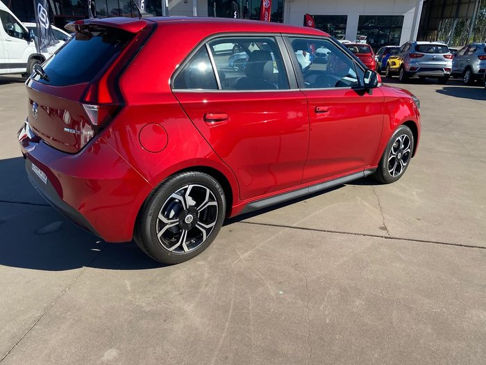 2020 MG MG3 Excite MY21 Red