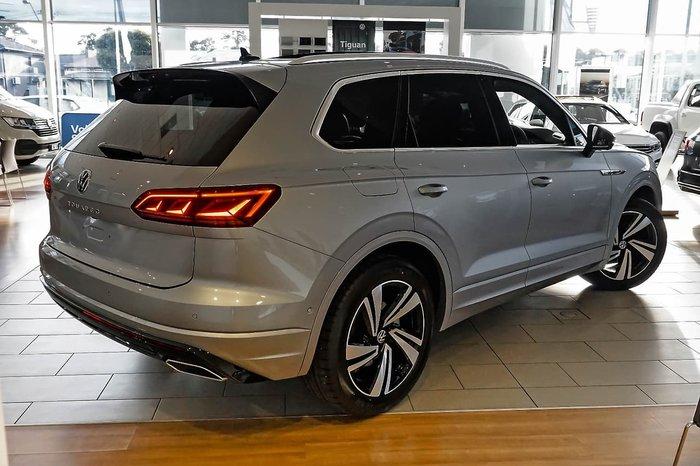 2021 Volkswagen Touareg 210TDI R-Line CR MY21 Four Wheel Drive Silver