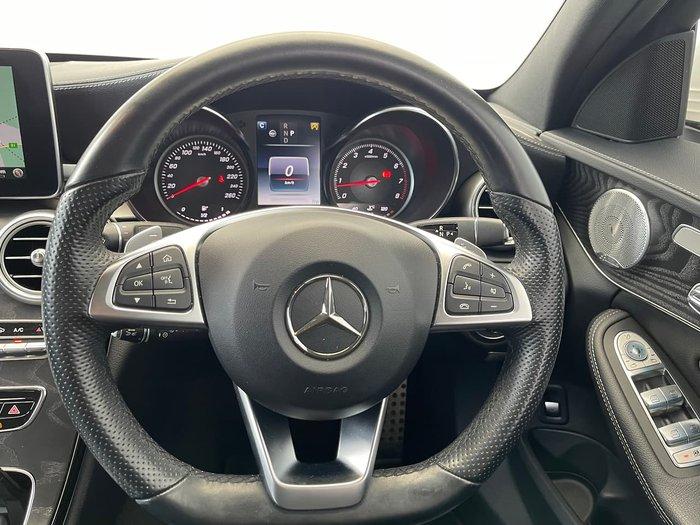 2017 Mercedes-Benz C-Class C250 W205 White
