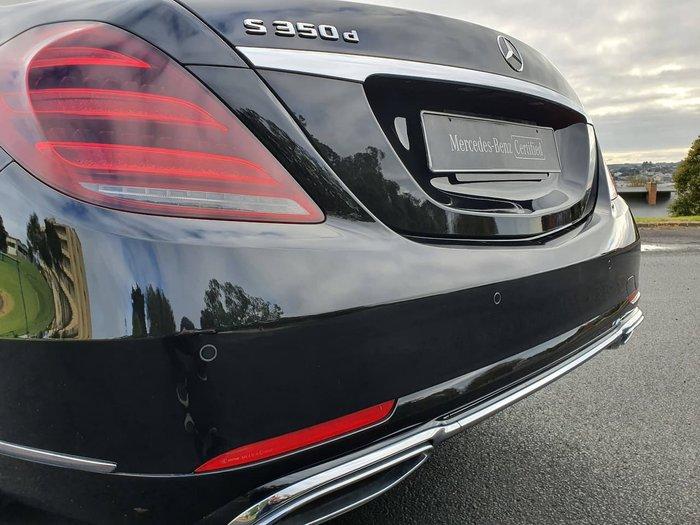 2019 Mercedes-Benz S-Class S350 d W222 Black