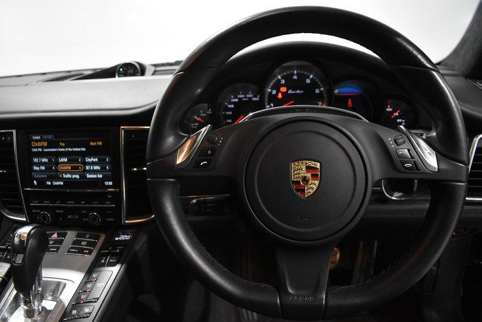 2013 Porsche Panamera Turbo 970 MY13 AWD Basalt Black