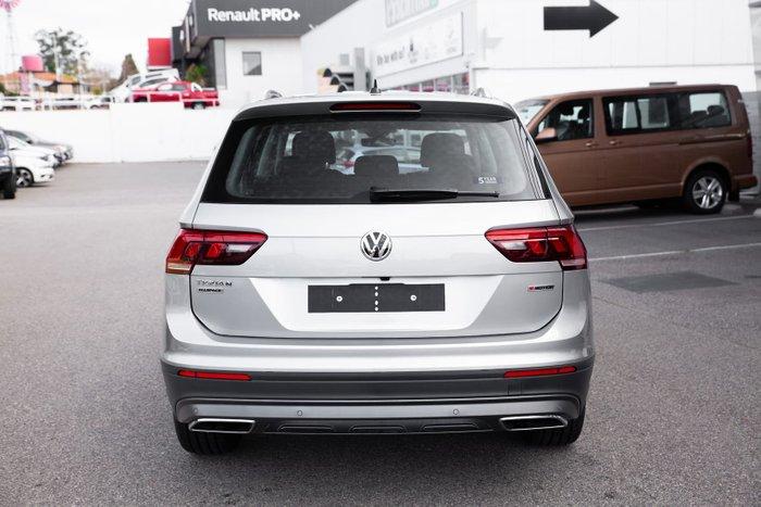 2021 Volkswagen Tiguan 132TSI Comfortline Allspace 5N MY21 Four Wheel Drive Pyrite Silver