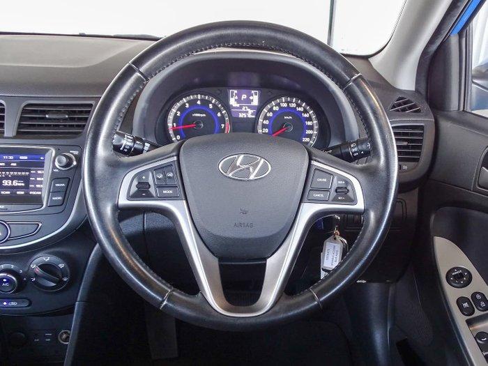 2019 Hyundai Accent Sport RB6 MY19 Blue