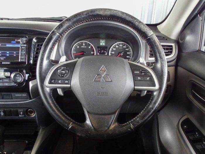 2015 Mitsubishi Triton Exceed MQ MY16 4X4 Dual Range Titanium