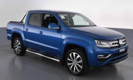 2019 Volkswagen Amarok TDI580 Ultimate 2H MY19 4X4 Constant Ravenna Blue
