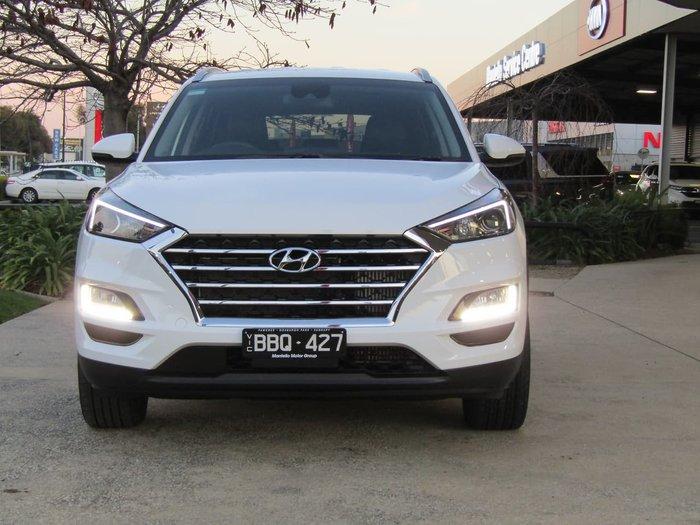 2019 Hyundai Tucson Active TL4 MY20 AWD White