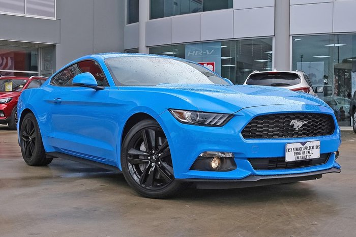 2016 Ford Mustang FM Blue