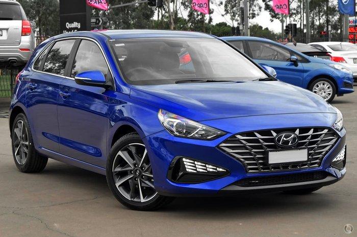 2021 Hyundai i30 Active PD.V4 MY21 Blue