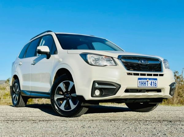 2016 Subaru Forester 2.0D-L S4 MY16 AWD Crystal White Pearl