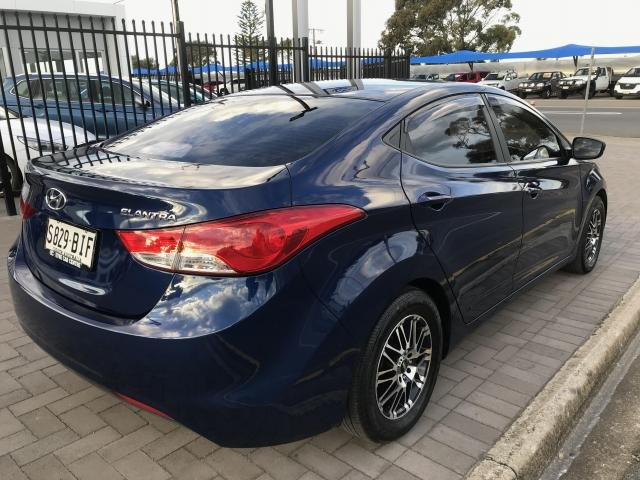 2011 Hyundai ELANTRA ACTIVE blue