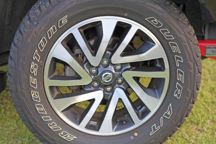 2018 Nissan Navara ST-X D23 Series 3 4X4 Dual Range White