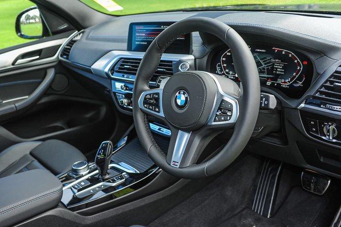 2021 BMW X3 M40i G01 4X4 Constant Black