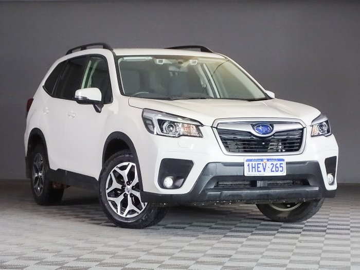 2019 Subaru Forester 2.5i S5 MY19 AWD Crystal White