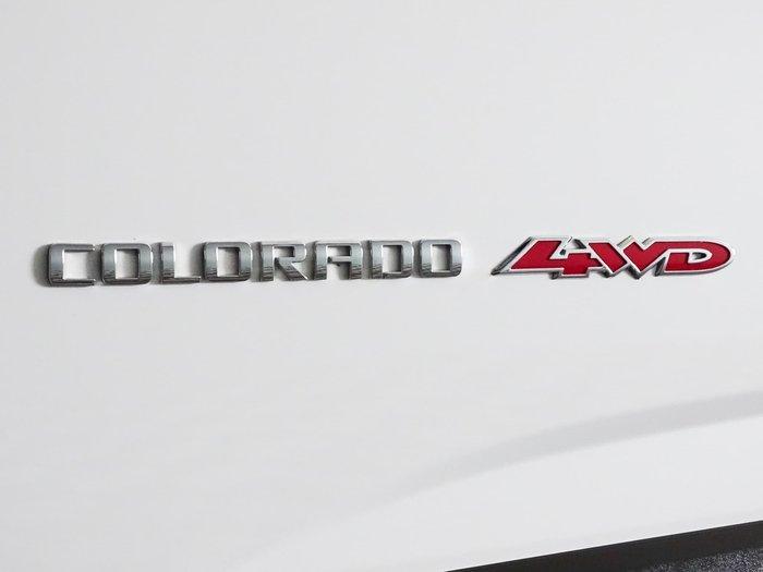 2020 Holden Colorado LS RG MY20 4X4 Dual Range Summit White