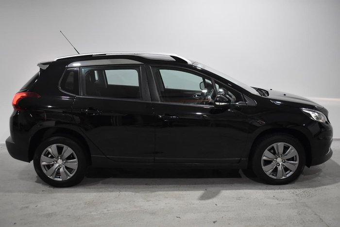 2017 Peugeot 2008 Active A94 MY17 Perla Nera Black
