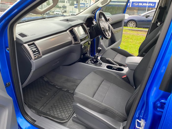 2017 Ford Ranger XLT PX MkII 4X4 Dual Range Winning Blue