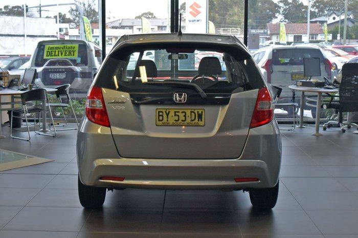 2012 Honda Jazz Vibe GE MY12 Storm Silver