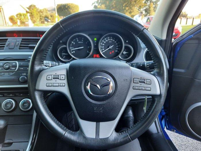 2009 Mazda 6 Classic GH Series 1 MY09 Aurora Blue
