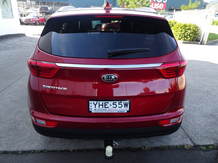 2016 Kia Sportage SLi QL MY17 Fiery Red