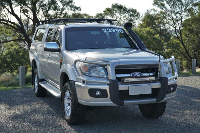 2010 Ford Ranger XLT PK 4X4 Silver Metallic