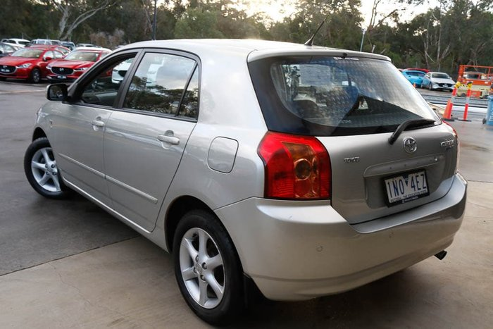 2006 Toyota Corolla Conquest ZZE122R Shimmer