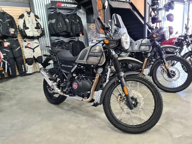 2021 Royal Enfield Himalayan ABS Himalayan Sleet; White or Granite