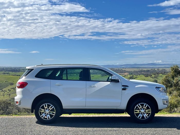 2018 Ford Everest Trend UA MY18 White