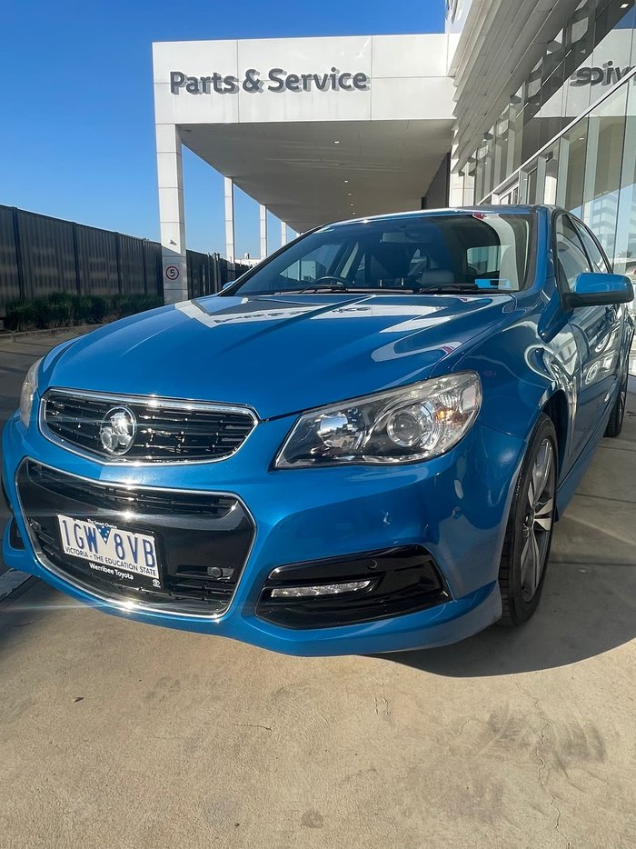 2014 Holden Commodore SS VF MY15 Blue