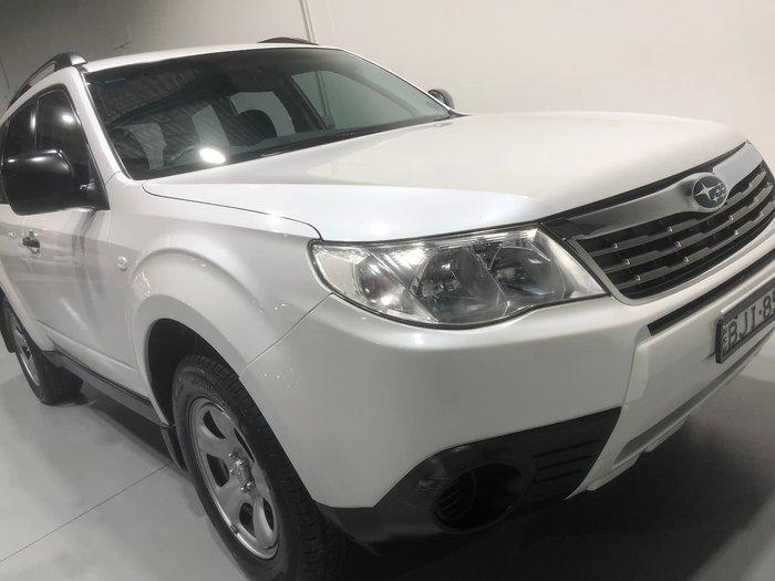 2009 Subaru Forester X S3 MY09 AWD White
