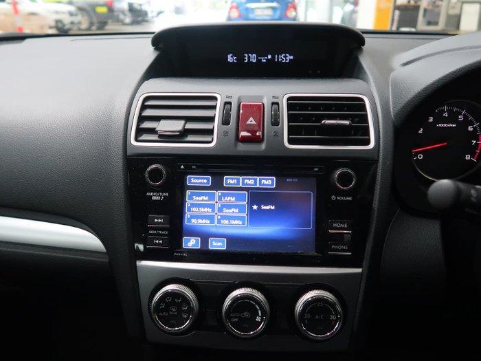 2015 Subaru Impreza 2.0i G4 MY15 AWD Crystal White